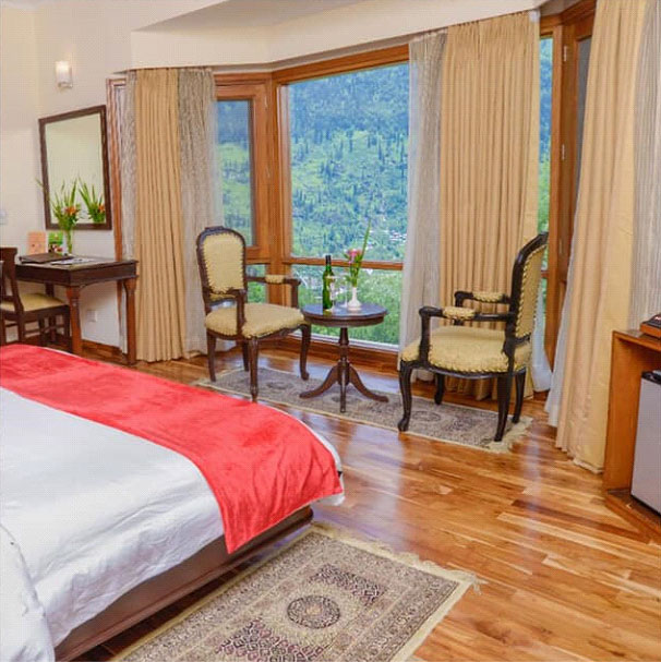 Pamper Yourself by Staying in a Covid Safe Resorts in Manali