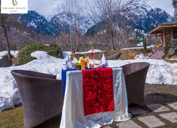 Romantic Season at the Breath Taking Honeymoon Resorts in Manali